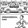 Cartoon, Successful Man 1